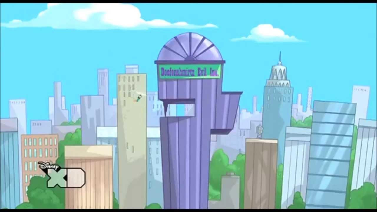 Phineas And Ferb Dr Doofenshmirtz Building q Doofenshmirtz Evil