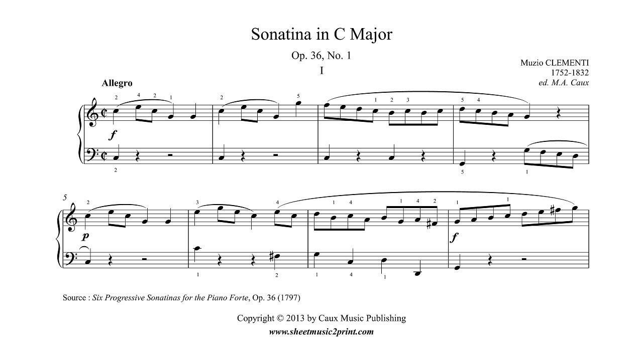 Sonatina 1