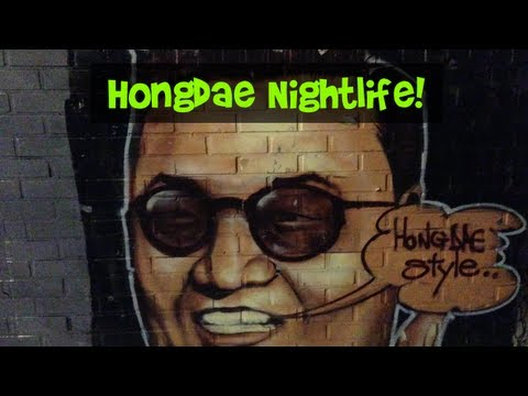 Nightlife in Hongdae