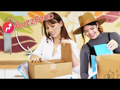 DIY thrift swap challenge w/ Buzzfeed!