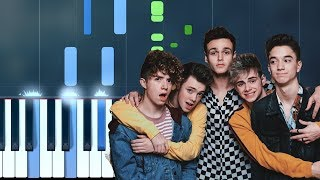 """Why Don't We - """"8 Letters"""" Piano Tutorial - Chords - How To Play - Cover"""