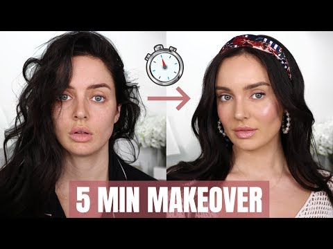 0-100 Beauty Transformation! Quick Makeup Tips \ Chloe Morello
