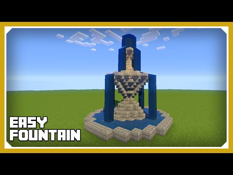 Minecraft Tutorial Brunnen Bauen Build A Fountain Videomoviles Com