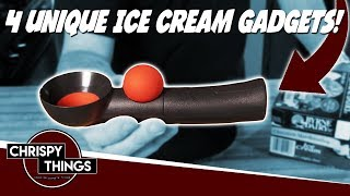 Testing 4 Awesome Ice Cream Gadgets!