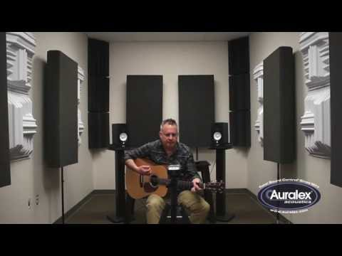 Auralex Diffusor Acoustic Guitar Listening Experiment: T'FUSOR vs. GEOFUSOR