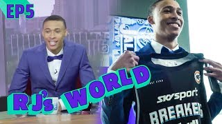 """Go Get That CHECK!"" RJ Hampton Breaks Down Why He's Going OVERSEAS! Explains NOT GOING To College!"