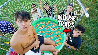 DO NOT FALL INTO MOUSE TRAP DUNK TANK!