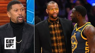 Jalen Rose expecting sparks between Draymond Green and DeMarcus Cousins | Get Up!