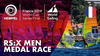RS:X Men Medal Race | Hempel World Cup Series Final Marseille 2019