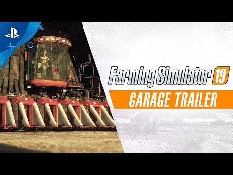 Farming Simulator 19 - Garage Trailer | PS4