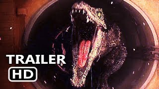 JURASSIC WORLD 2 Final Trailer TEASE (2018) Chris Pratt, Fallen Kingdom Action Movie HD