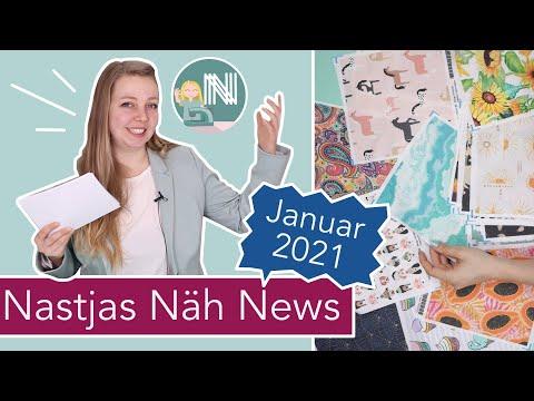 Neues Format: Nastjas Näh News Januar 2021 – Trends, Highlights, Deals und mehr