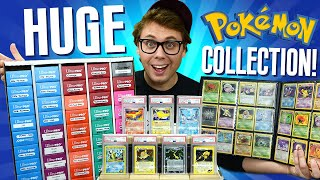 Well, Here's My HUGE Pokemon Card Collection!