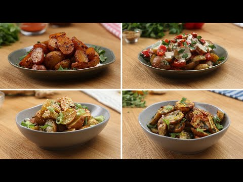Roasted Little Potatoes 4 Ways  // Presented by BuzzFeed & The Little Potato Company