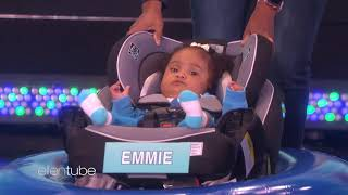 Ellen's First Baby Olympics: Curling Edition