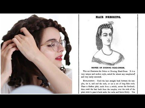 I Followed An 1867 Hair Tutorial