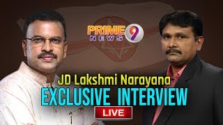 Jana Sena JD Lakshmi Narayana's most Revealing Interview w..