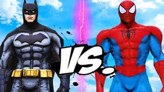 BATMAN VS SPIDERMAN - EPIC BATTLE
