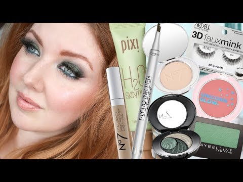 Drugstore Makeup Ive Never Tried Before | First Impressions & Wear Test