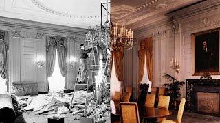 The White House's massive renovation