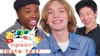 The 'Looking for Alaska' Cast Struggles through This Whole Video   Expensive Taste Test   Cosmo