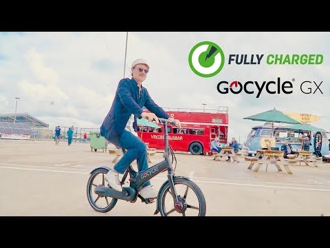 Gocycle GX® eBike Review | Futuristic Fast Folder | Fully Charged Live