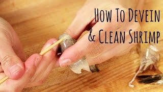 How to Devein and Clean Shrimp