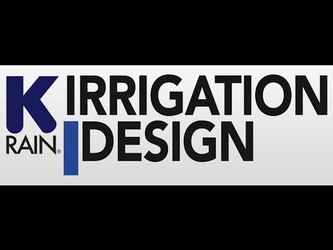 How to design an irrigation system