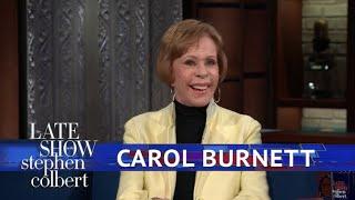 Carol Burnett Found A Creative Way To Say 'Hi' To Her Nanny