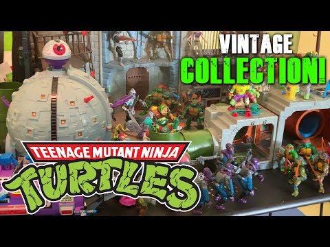 Trev's Vintage 80's Teenage Mutant Ninja Turtle Figure Collection!
