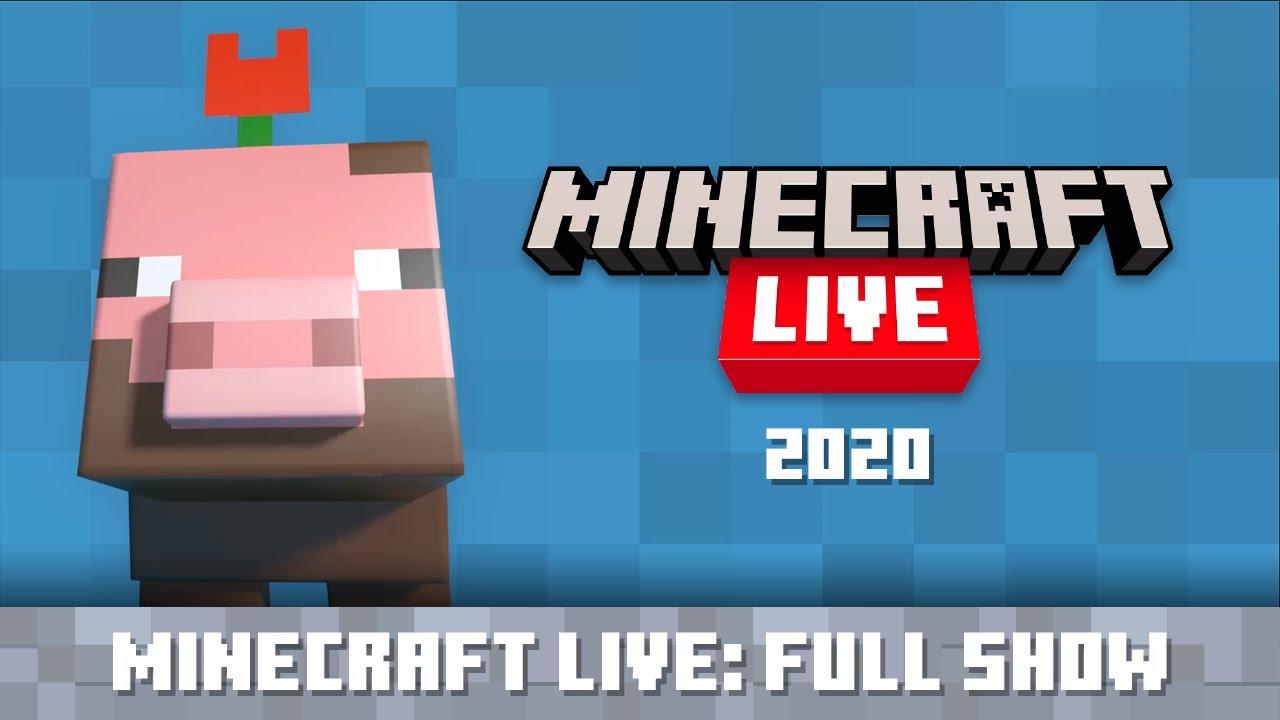 Minecraft Live 2020: Full Show