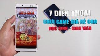 Top 7 điện thoại chơi game giá rẻ cho học sinh sinh viên