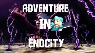 Adventure in end city. Yummy pie gaming❤❤