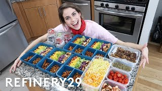 5 Days Of Meal Prep | Try Living With Lucie | Refinery29