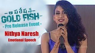 Nithya Naresh Emotional Speech