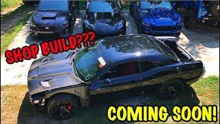 Rebuilding A Wrecked 2017 Dodge Hellcat Part 9