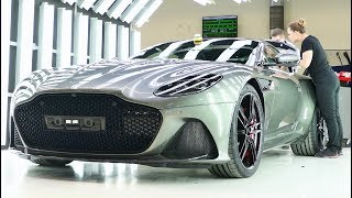 2019 Aston Martin DB11 and DBS Production
