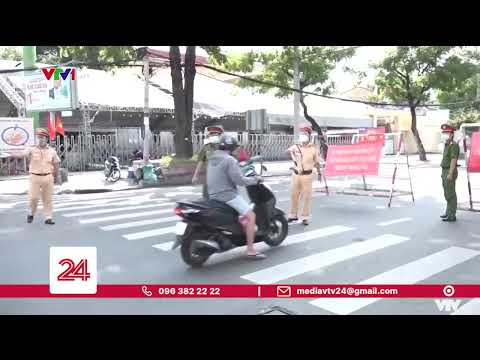 Tăng cường giãn cách ở TP Hồ Chí Minh   VTV24