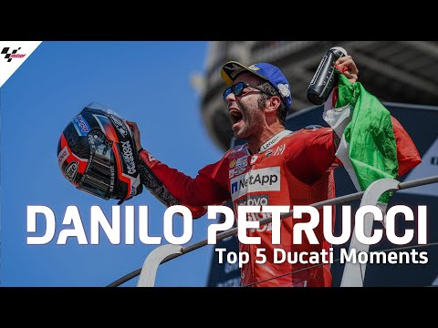 Danilo Petrucci's Top 5 Moments with Ducati