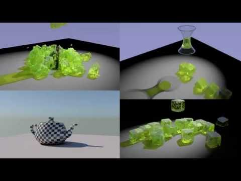 thinkingParticles Subscription Drop 4 - How To Simulate Gelatin Cubes