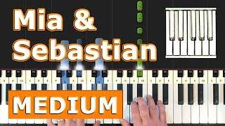 La La Land - Mia & Sebastian's Theme - Piano Tutorial Easy  - How To Play (Synthesia)