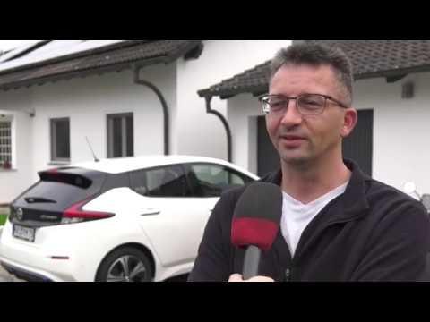Bürgerenergiepreis Unterfranken 2019: Preisträger Familie Jung aus Eltmann