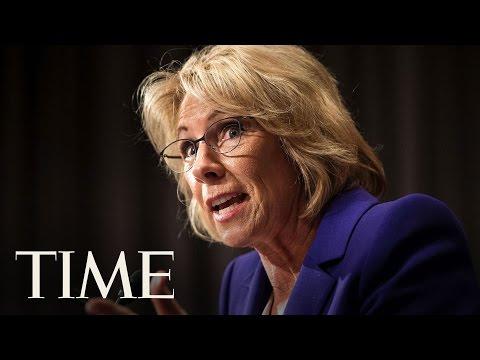 Betsy DeVos Secretary Of Education Hearing Highlights   TIME