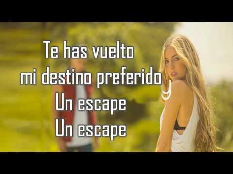 Un escape LETRA - Corina Smith Ft Gustavo Elis