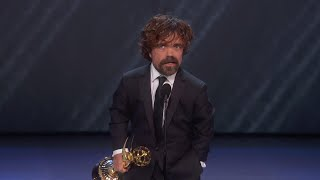 70th Emmy Awards: Peter Dinklage Wins For Outstanding Supporting Actor In A Drama Series