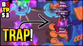 TRAPPING ENEMIES BEHIND WALLS!? Top Plays in Brawl Stars #53