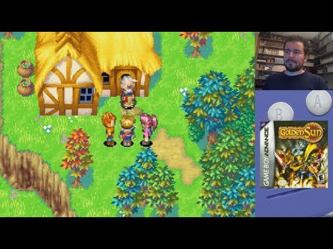 GOLDEN SUN (Game Boy Advance) - Gameplay en Español GBA