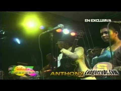 Anthony Santos - Popurri Bachatas Viejas 'En VIvo