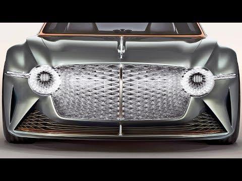 Bentley EXP 100 GT ? Next-Gen Sports Luxury Car