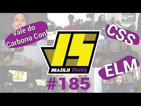Weekly #185 - Vale do Carbono Conf, novidades do CSS e ELM